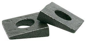 1-1/4'' Plain Finish Steel - Malleable Beveled Washer