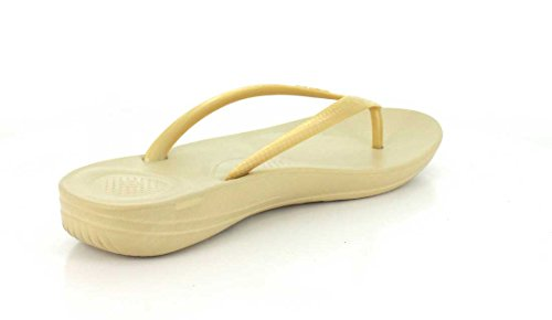 FitFlop Mujer dorado iQushion Ergonomic Chanclas