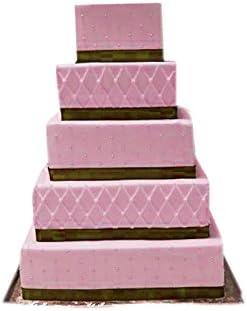 5//étages Rond et carr/é 3//étages multicouche hexagonale danniversaire de mariage anniversaire G/âteau Moule /à g/âteau Jeux/ /13/Po/êles