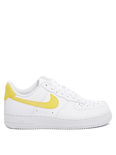 1 Donna Nike 07 Pelle Force Air Sneakers Wmns Bianco wxa7Ug