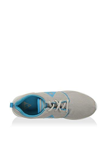 Le Coq Sportif Dynacomf Text, Damen Sneakers Grau (gray Morn/blue Atoll)