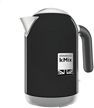Kenwood ZJX650BK - Tetera eléctrica (1 L, 2200 W, Negro, Metal ...