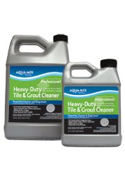 Aqua Mix Heavy Duty Tile and Grout Cleaner - Quart