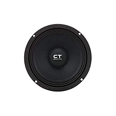 "CT Sounds 8 Inch Car Audio Speaker - Midrange, 4 Ohm Impedance, 60W (RMS) | 180W (MAX) Power Per Speaker, 1.5"" Voice Coil, Shallow ProAudio (1 Speaker) – Tropo PA 8"