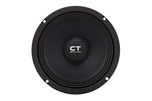 "CT Sounds 8 Inch Car Audio Speaker - Midrange, 4 Ohm Impedance, 60W (RMS)   180W (MAX) Power Per Speaker, 1.5"" Voice Coil, Shallow ProAudio (1 Speaker) - Tropo PA 8"