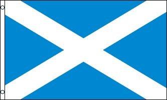 NYLON  SCOTISH FLAG of SCOTLAND, 3'x5' NYLON