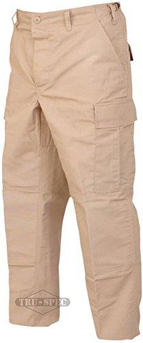 UPC 690104021348, TRU-SPEC Men's Polyester Cotton Rip Stop BDU Pant, Khaki, X-Large Long