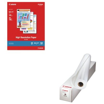 KITCNM0850V069CNM1033A011 - Value Kit - Canon Fine Art Bright White Paper (CNM0850V069) and Canon High Resolution Paper ()