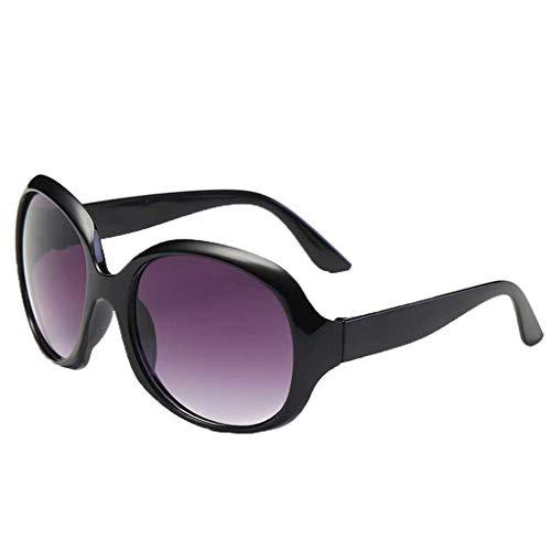 - LODDD Women's Fashion Sunglasses Large Frame Vintage Shade Glasses