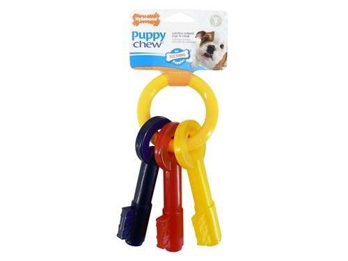 (3 Pack) Nylabone - Nylabone Puppy Teething Keys Large