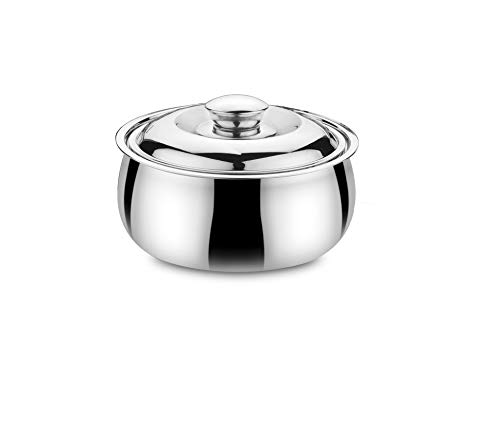 Classic Essentials Tripot Double Wall Belly Casserole, Insulated, 2100 ml