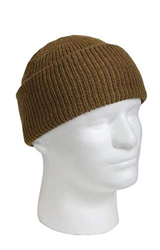 Camouflage Usa Made Fatigue Cap - BlackC Sport Coyote Winter Beanie Hat Wool Watch Cap USA Made