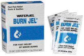 Water-Jel Gel Burn Jel 3.5 Gram Unit Dose Packet -1 Case of 25 Boxes