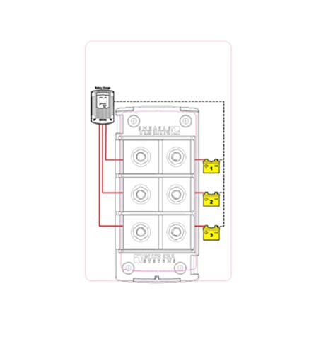 blue sea systems 5194 fuse block mrbf 3circ independent boating electrical equipment  u2013 enjoy the