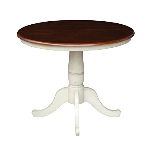 International Concepts Extension Table (Dining Extending Round Table Pedestal)