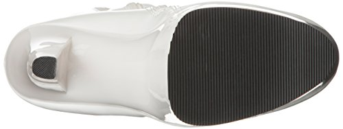 Pleaser Stiefel TABOO-2021 - Lack Weiß 42,5 EU