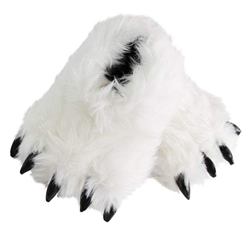 Bear Claw Slippers | Cute Animal Claw Slippers | Cozy Fluffy Bear Paw Slippers | Funny Adorable Monster Cosplay Costumes Slippers