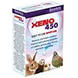 Xeno 450 spot on tubes 6 pack for rabbits, guinea pigs and.