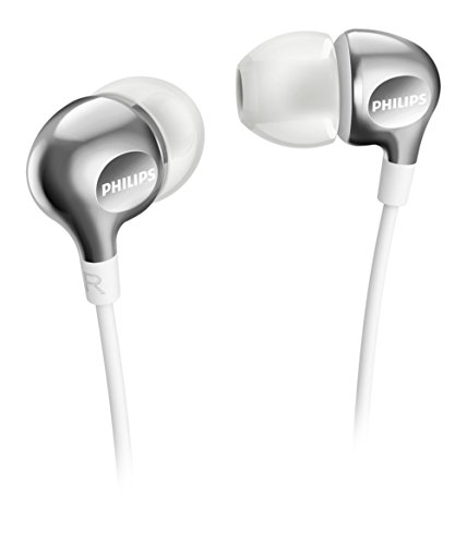Philips SHE3700WT Headphones (Silver)