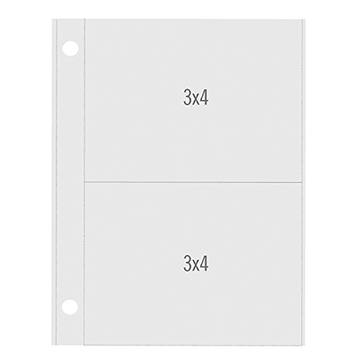 - Simple Stories SNAP4086 Snatp Pocket Pages with Vertical Pocket Binders (10 Pack), 3
