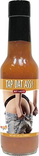 Habanero Scotch Bonnet Hot Sauce- Tap Dat Ass Hot Sauce- Awesome and Funtastic Habanero Scotch Bonnet Hot Sauce with Hilarious Vegas Stories and a Great Gift - Las Bazaar Vegas
