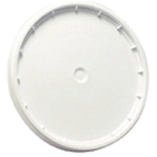 LEAKTITE 6GLD 5 -Gallon lon White Plastic Pail Lid (Pail Lid)