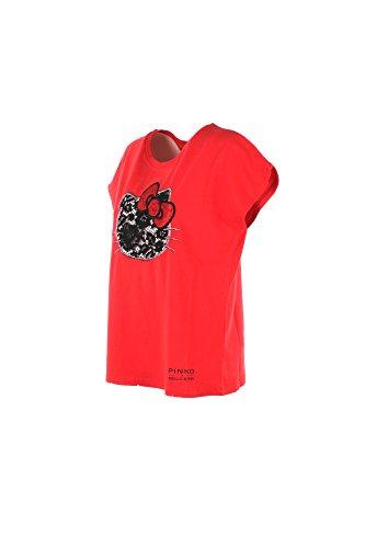 Pinko Hello Kitty 1K100P-Y4EW T Shirt Donna Red S