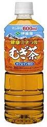 伊藤園 健康ミネラルむぎ茶 600mlペットボトル×24本入×(2ケース)