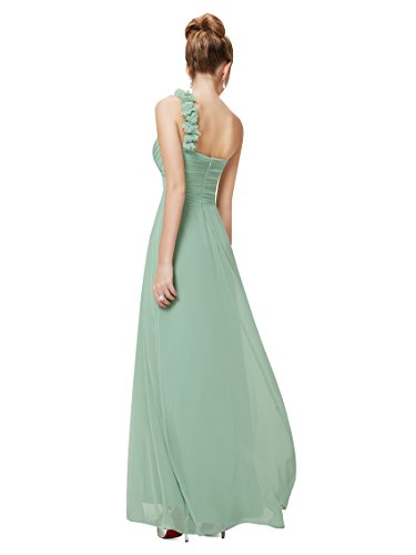 lungo abito da Vestito Verde da donna Pretty da sera da sera Ever sera vestito vestito 09768 Menta da 7qvwEw5