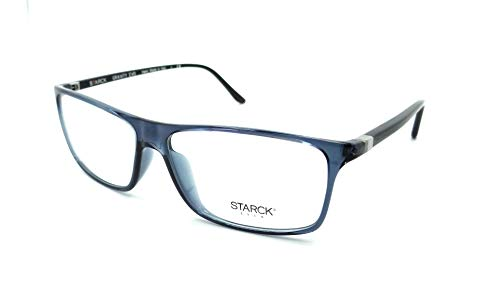 a143242486 Comes with Starck Eyes Case. Starck Eyes Mikli Rx Eyeglasses Frames SH1240X  0025 59x15 Transparent Blue