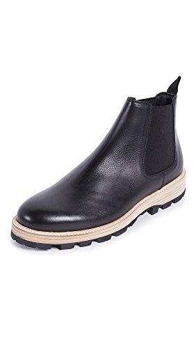 Clarks Mens Lorwin Mid Chelsea Boots Nero