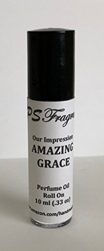 Amazing Cologne - Philosophy Amazing Grace Impression by CPS Fragrances Women's Body Oil Roll On (10 ml)