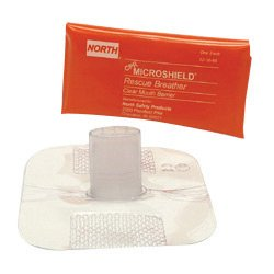 North® By Honeywell Microshield® CPR Rescue Breather (Orange (Rescue Breather)