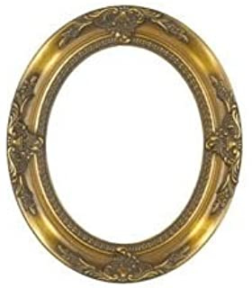 amazon com rabbetworks ornate burgundy oval picture frame 11x14