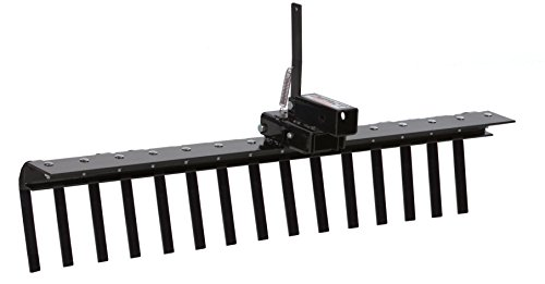 - Impact Implements Landscape Rake with Tipper Latch for ATV/UTV & 2