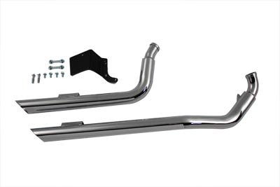 V-Twin 30-0786 - Exhaust Drag Pipe Set -