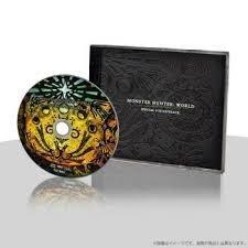 Monster Hunter World Limited BONUS Special Soundtrack CD Japan Import