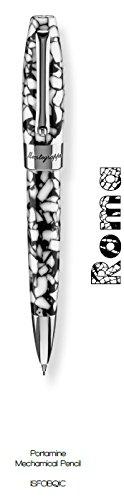 montegrappa-fortuna-rome-mosaico-steel-white-mechanical-pencil