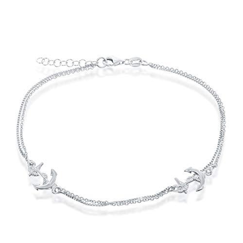Belle Sterling Bracelet Silver (Beaux Bijoux Sterling Silver 8.5