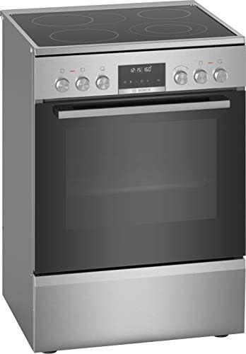 Bosch Serie 6 HKS79U250 - Cocina (Cocina independiente, Negro, Plata, Giratorio, Tocar, Acero inoxidable, Frente, 1,2 m): Amazon.es: Hogar