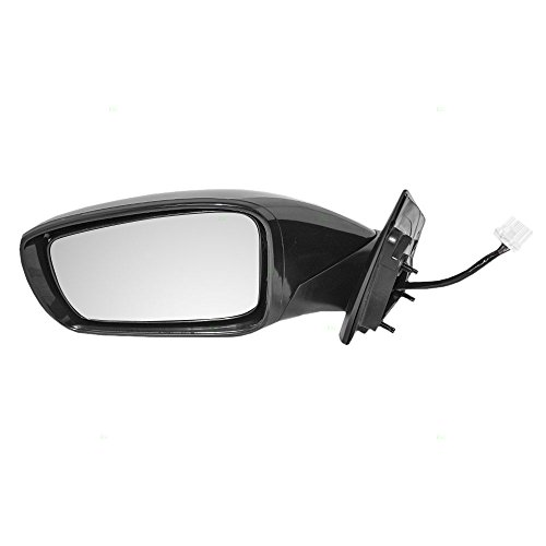 Drivers Power Side View Mirror Heated Signal Replacement for Hyundai 87610-3Q110 AutoAndArt