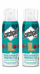 Scotchgard Leather Protector for Suede and Nubuck, 7-ounce - 2 Pack