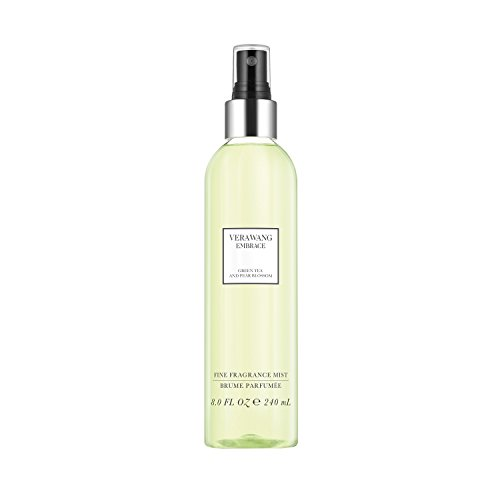Vera Wang Embrace Body Mist for Women Green Tea and Pear Blossom Scent 8 Fluid Oz. Body Mist Spray. Bright, Modern, Classic Fragrance from Vera Wang
