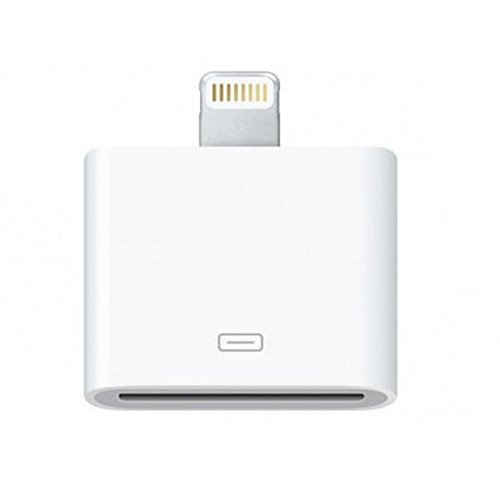 Approx appC02 Lightning iPhone 30-pin White cable interface/gender adapter - cable interface/gender adapters (Lightning, iPhone 30-pin, Male/Female, White, ABS synthetics, 0.480 Gbit/s)