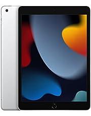 New 2021 Apple iPad (10.2-inch, Wi-Fi + Cellular, 256GB) - Silver (9th Generation)