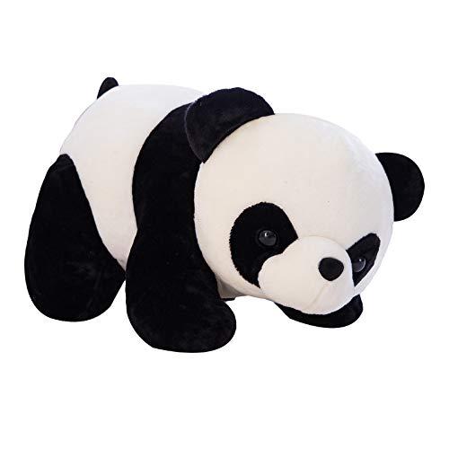 Lindo Panda Acostado Muneco De Peluche Panda Munecas para Ninos Y Ninas Regalos Creativos Soporte De Decoracion del Hogar 30 Cm Estilo De Mentira