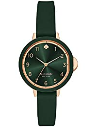 Women's Park Row Quartz Metal, Silicone Three-Hand Sports Watch, Color: Rose Gold, Green (Model: KSW1543)