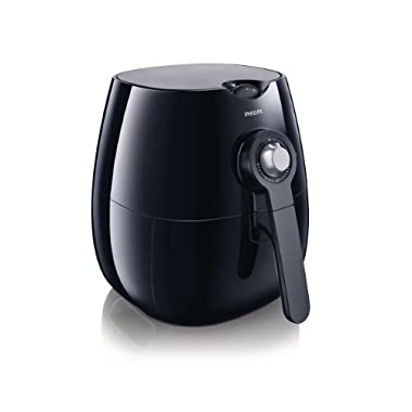 Philips AirFryer, the original Airfryer with Rapid Air Technology, Black, HD9220/26