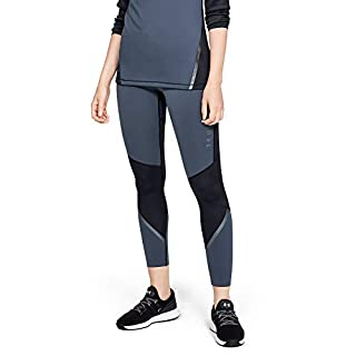 Under Armour Women's Coldgear Armour Legging Graphic, Downpour Gray (044)/Tonal, Small