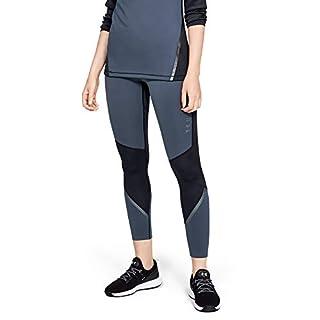 Under Armour Women's Coldgear Armour Legging Graphic, Downpour Gray (044)/Tonal, Large